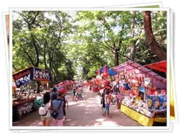 京都下鴨神社のみたらし祭りや流鏑馬&手作り市2017の日程!屋台は?4