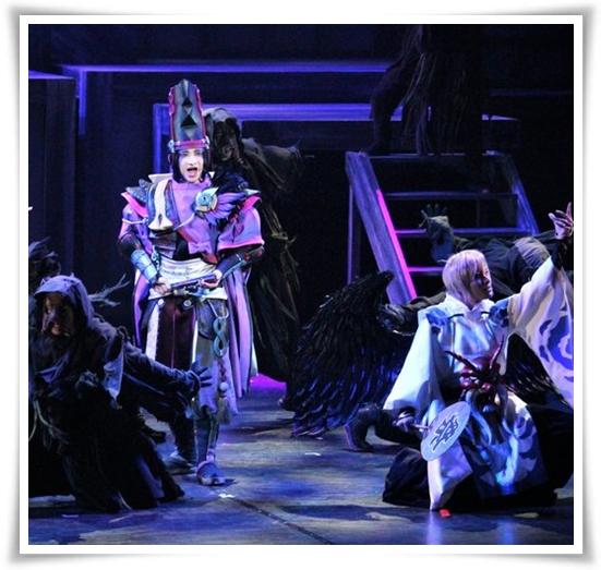 陰陽師ミュージカルのキャストが凄い! 黒晴明 と仲間