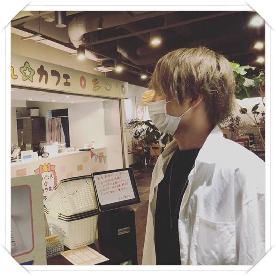 三浦宏規が好きなものはちぃたん  三浦宏規がちぃたんカフェに行く